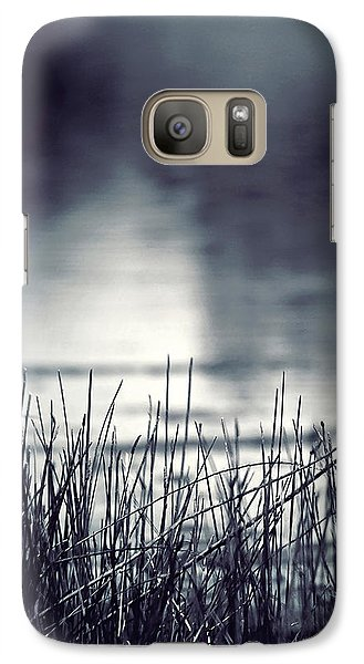 Galaxy Case featuring the photograph Between The Waters by Trish Mistric