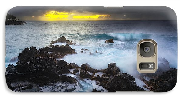 Galaxy Case featuring the photograph Between Two Storms by Ryan Manuel