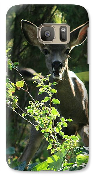 Galaxy Case featuring the photograph Beverly Hills Deer by Marna Edwards Flavell