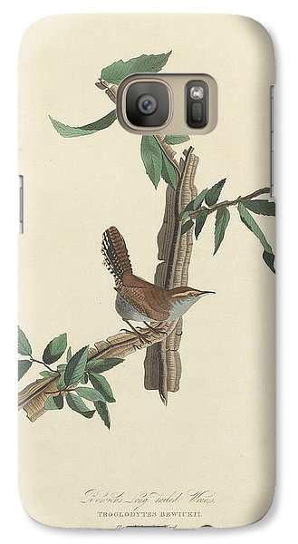Bewick's Long-tailed Wren Galaxy S7 Case by Dreyer Wildlife Print Collections