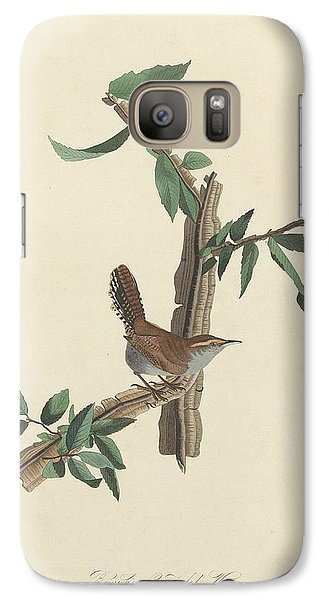 Bewick's Long-tailed Wren Galaxy Case by Rob Dreyer