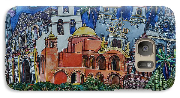 Galaxy Case featuring the painting Bexar County Missions by Patti Schermerhorn