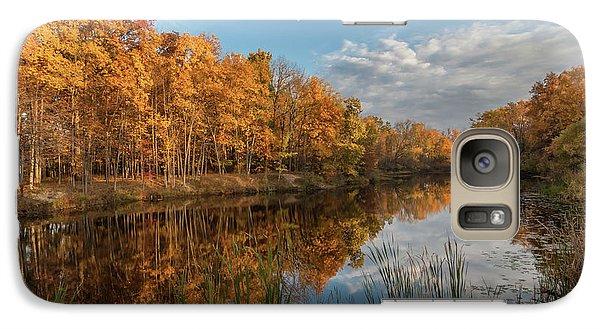 Beyer's Pond In Autumn Galaxy S7 Case