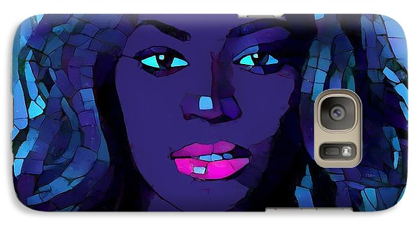 Beyonce Graphic Abstract Galaxy S7 Case