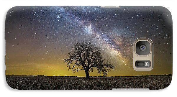 Galaxy Case featuring the photograph Beyond by Aaron J Groen