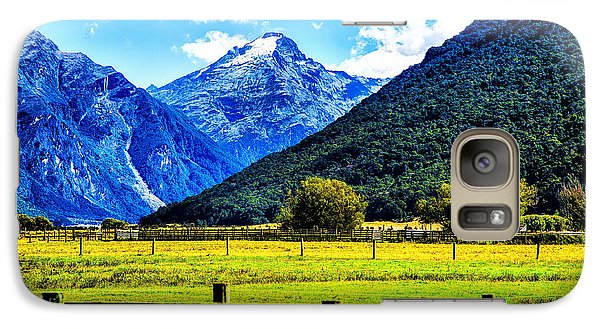 Galaxy Case featuring the photograph Beyond The Fence by Rick Bragan