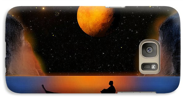 Galaxy Case featuring the photograph Beyond The Stars by Bernd Hau