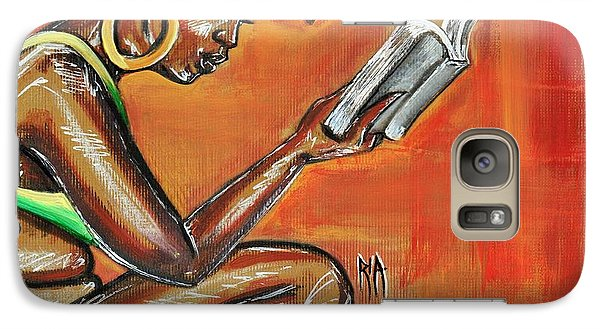 Galaxy S7 Case - Bible Reading by Artist RiA