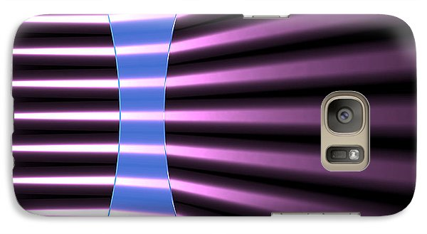 Galaxy Case featuring the digital art Biconcave Lens 2 by Russell Kightley