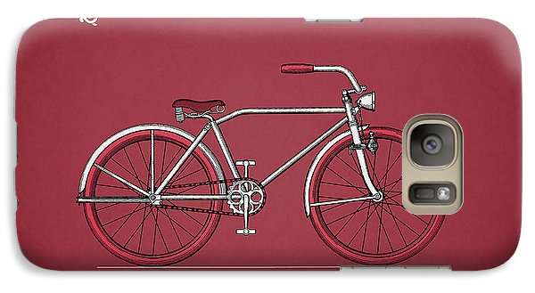 Bicycle Galaxy S7 Case - Bicycle 1935 by Mark Rogan
