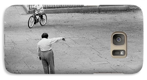 Bicycle Lesson Schurz Park Galaxy S7 Case