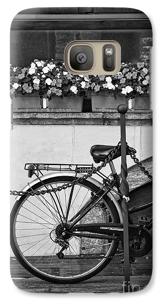 Bicycle With Flowers Galaxy S7 Case