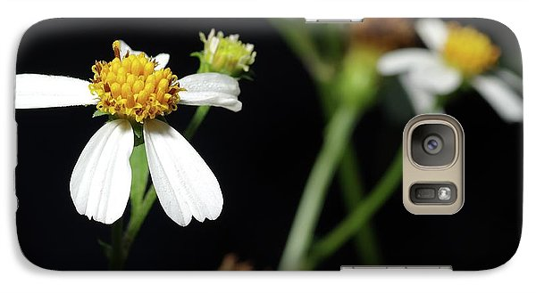Galaxy Case featuring the photograph Bidens Alba by Richard Rizzo