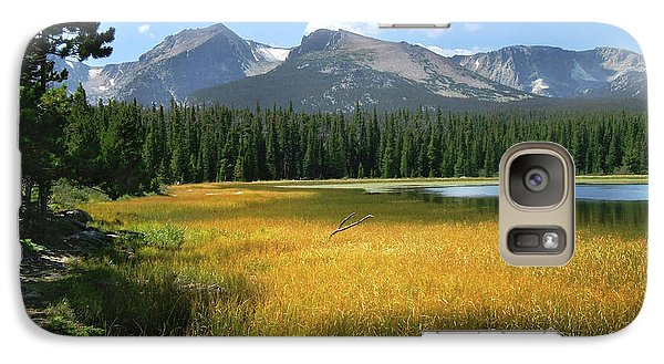 Galaxy Case featuring the photograph Autumn At Bierstadt Lake by David Chandler