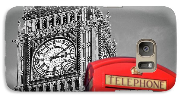 Galaxy Case featuring the photograph Big Ben by Delphimages Photo Creations