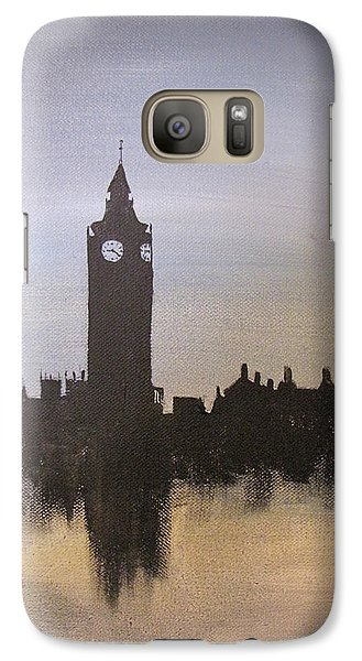 Galaxy Case featuring the painting Big Ben Of London by Gary Smith