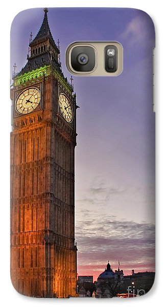Galaxy Case featuring the photograph Big Ben Twilight In London by Terri Waters