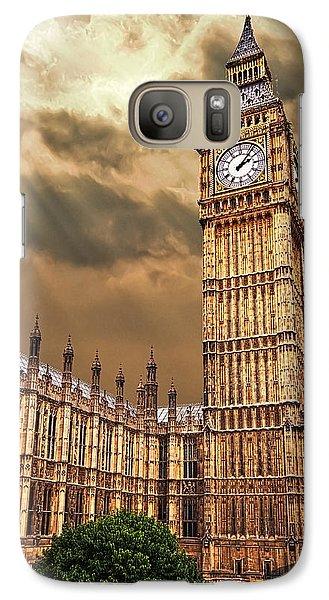 Big Ben's House Galaxy Case by Meirion Matthias
