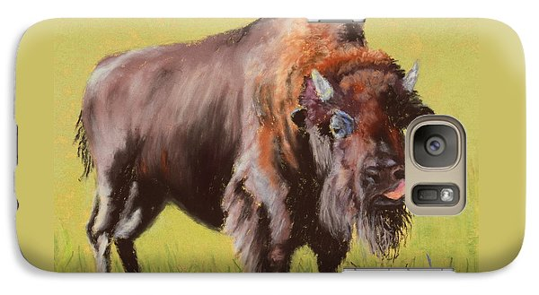 Galaxy Case featuring the painting Big Boy by Nancy Jolley