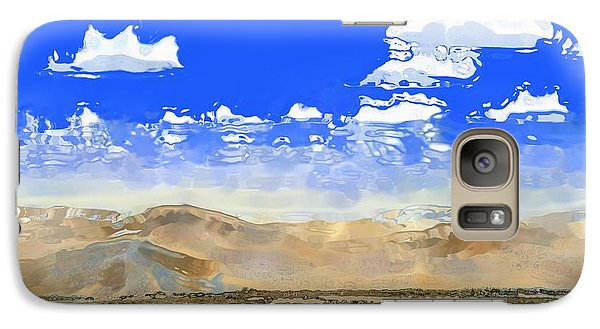 Galaxy Case featuring the digital art Big Country by Kerry Beverly