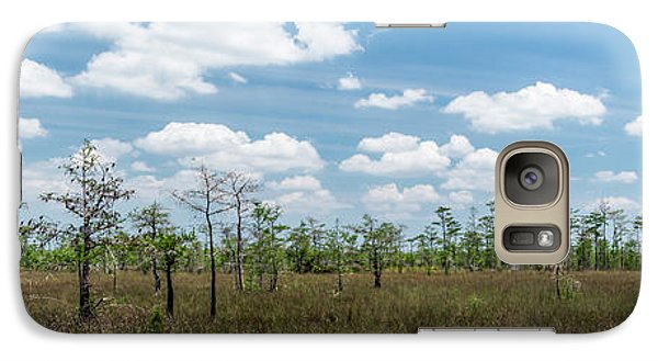 Galaxy Case featuring the photograph Big Cypress Marshes by Jon Glaser