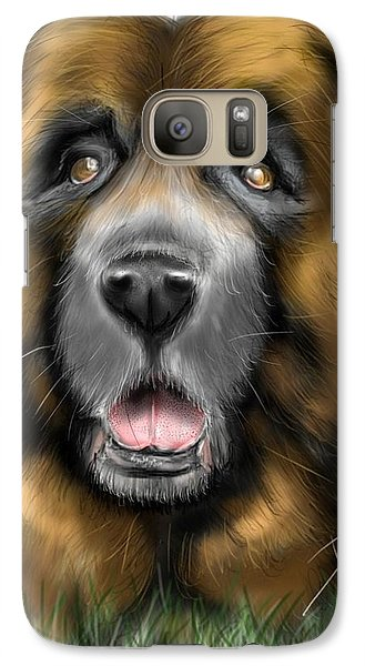 Galaxy Case featuring the digital art Big Dog by Darren Cannell