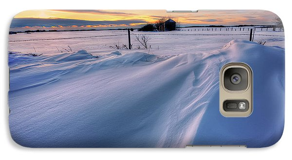 Galaxy Case featuring the photograph Big Drifts by Dan Jurak