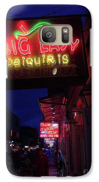 Galaxy Case featuring the photograph Big Easy Sign by Steven Spak