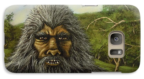 Galaxy Case featuring the painting Big Foot In Pennsylvania by James Guentner
