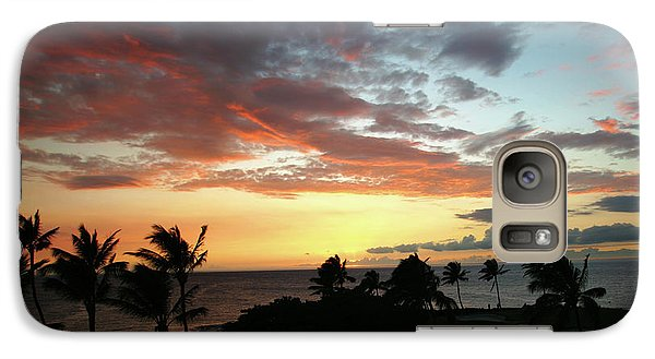 Galaxy Case featuring the photograph Big Island Sunset #2 by Anthony Jones