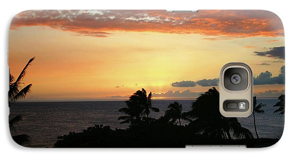Galaxy Case featuring the photograph Big Island Sunset by Anthony Jones