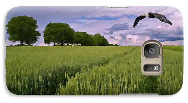 Galaxy Case featuring the photograph Big Sky by David Dehner