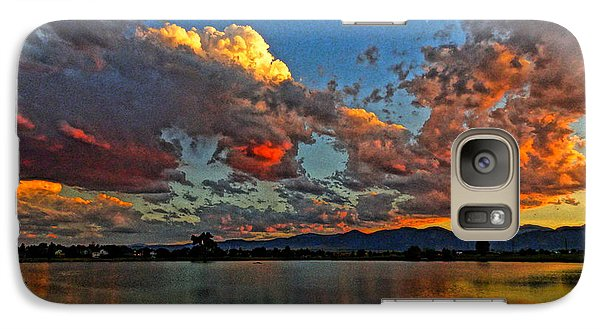 Galaxy Case featuring the photograph Big Sky by Eric Dee