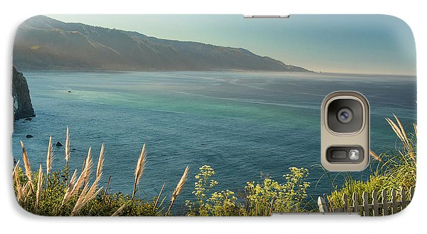 Galaxy Case featuring the photograph Big Sur At Lucia, Ca by Dana Sohr