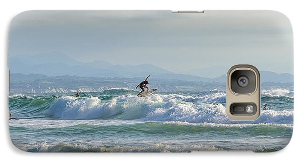 Galaxy Case featuring the photograph Big Surf Invitational I by Thierry Bouriat
