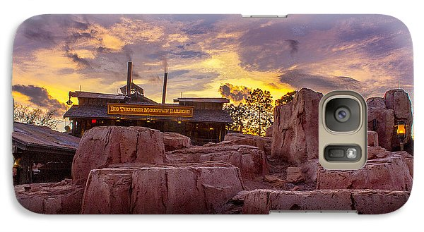 Big Thunder Mountain Sunset Galaxy S7 Case