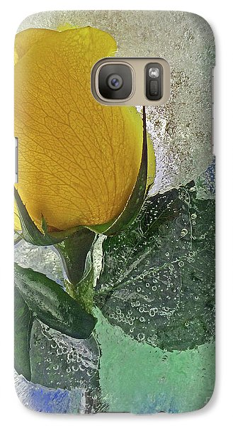 Galaxy Case featuring the digital art Big Yellow by Terry Foster