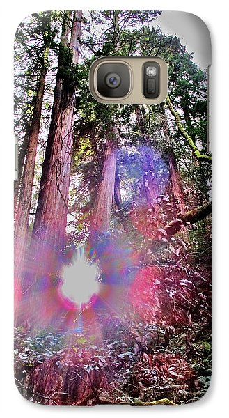 Galaxy Case featuring the photograph Bigfoot Into The Light by John King