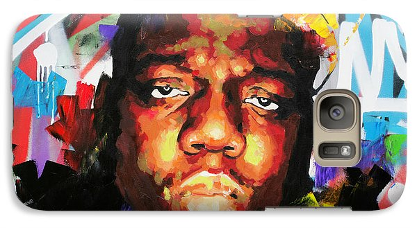 Galaxy Case featuring the painting Biggy Smalls IIi by Richard Day
