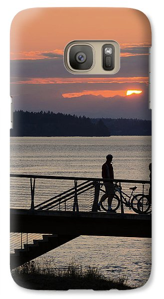 Bikers At Sunset Galaxy S7 Case