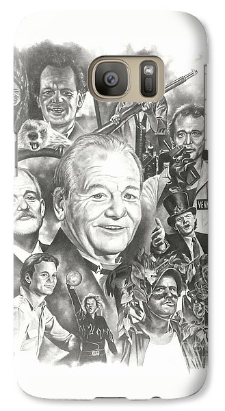 Groundhog Galaxy S7 Case - Bill Murray by James Rodgers
