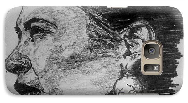Galaxy S7 Case - Billie Holiday by Rachel Natalie Rawlins
