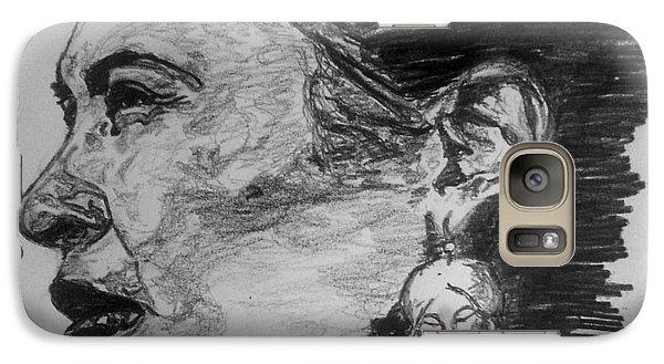 Billie Holiday Galaxy Case by Rachel Natalie Rawlins