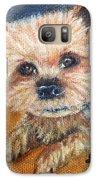Galaxy Case featuring the painting Billy by Sharon Schultz