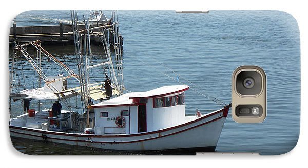 Galaxy Case featuring the photograph Bilouxi Shrimp Boat by Cynthia Powell