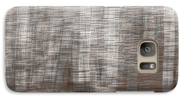 Galaxy Case featuring the photograph Birch At The Forest Edge by Thomas Young