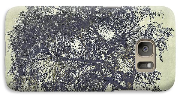 Galaxy Case featuring the photograph Birch In The Mist by Ari Salmela
