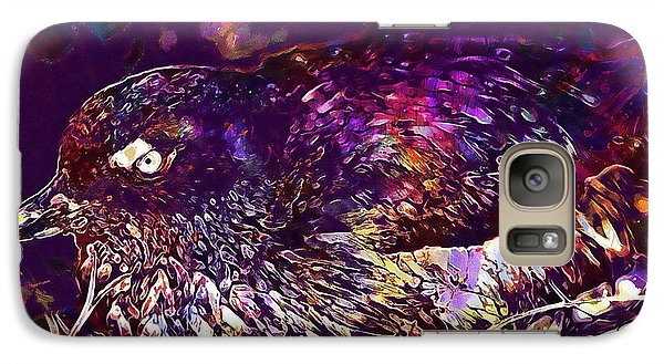 Bird Cassins Auklet Crested Birds  Galaxy S7 Case