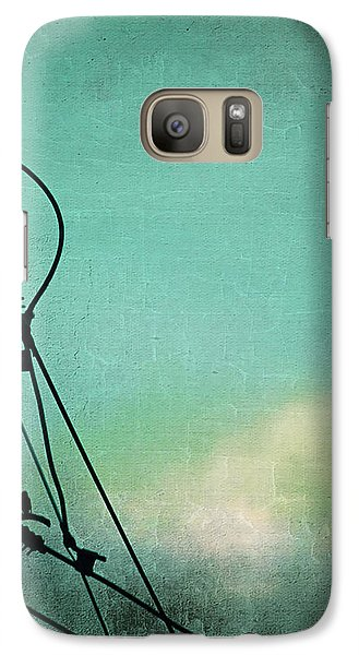 Galaxy Case featuring the photograph Bird City Revisited by Trish Mistric