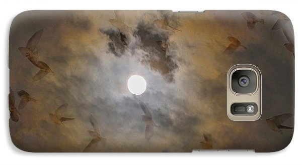 Bird Dreams Galaxy Case by Sue McGlothlin